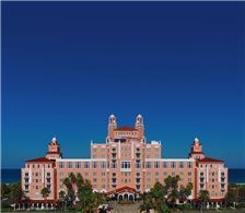 Aerial view of Hotel Front Entrance - The Don CeSar Hotel - Aerial view of Hotel Front Entrance