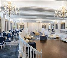 Grand Ballroom set for Wedding Reception - The Don CeSar Hotel - Grand Ballroom set for Wedding Reception