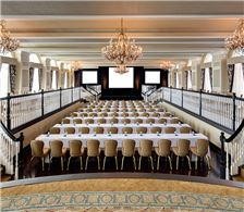 Grand Ballroom set for Conference - The Don CeSar Hotel - Grand Ballroom set for Conference