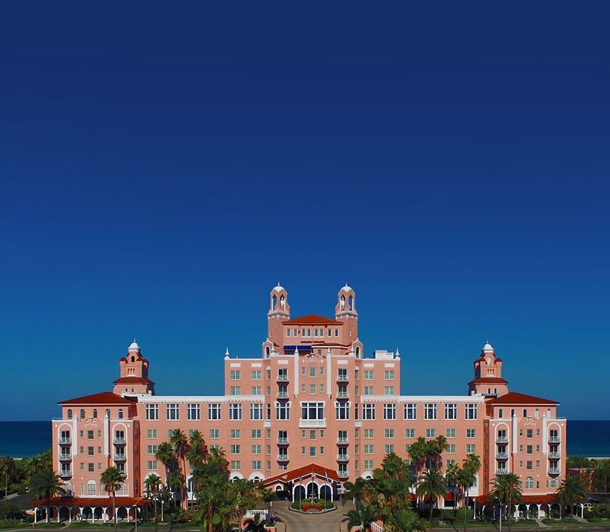 Monarch Coast Apartments: Iconic Pink Hotel In St. Pete Beach