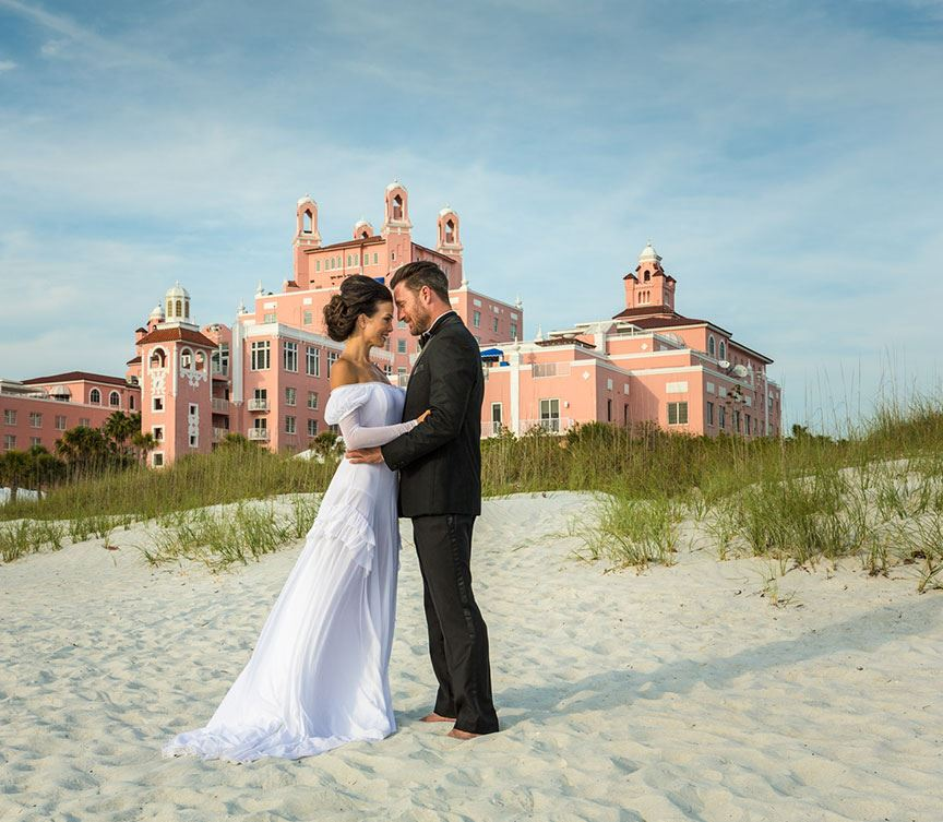 Florida Beach House Weddings: Don CeSar Wedding & Event Photos