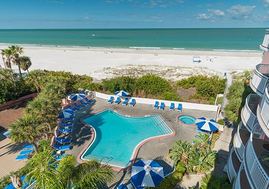 St. Pete Beach Hotel offering Park & Beach Package