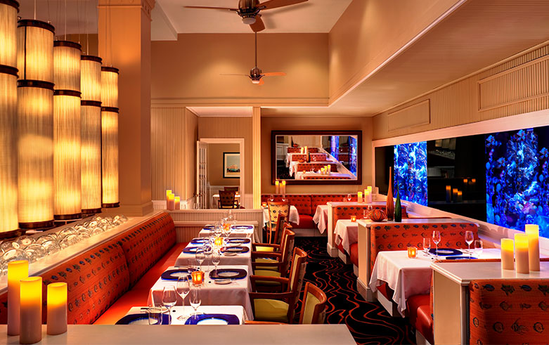 Maritana Grille Restaurant in The Don CeSar Hotel