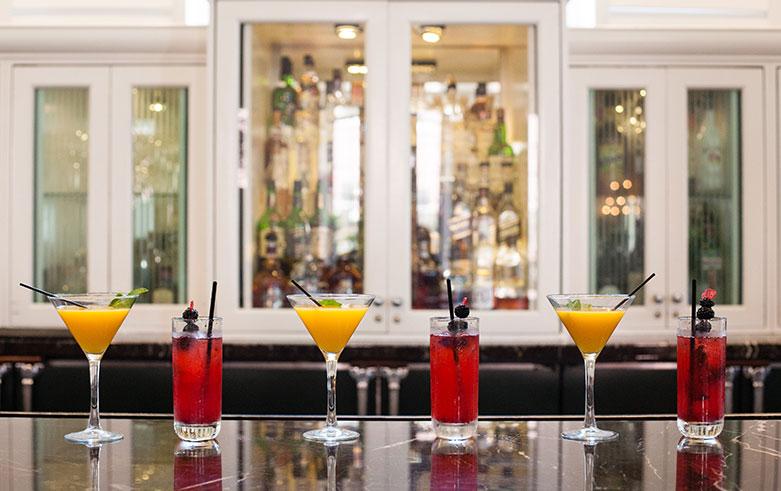 Seasonal Creations Lobby Bar of The Don CeSar Hotel