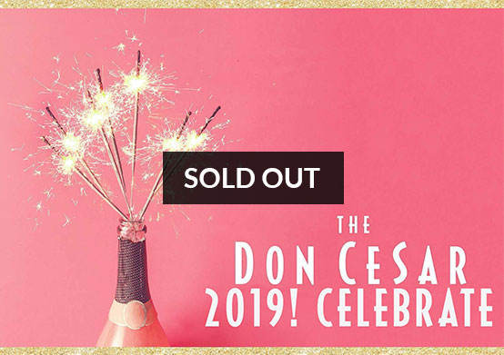 CELEBRATE! 2019 Don CeSar New Year's