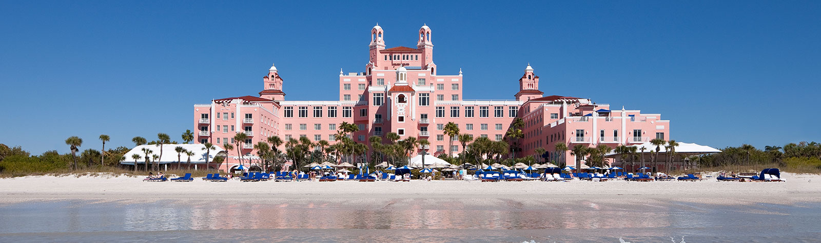 Book Your Stay At The Legendary Pink Palace