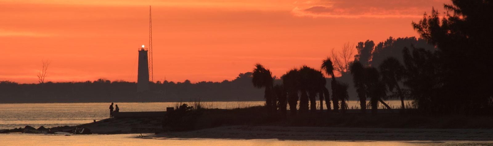Egmont Key State Park at Florida