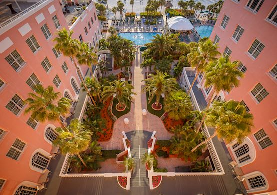 Meetings Facilities at Courtyard of The Don CeSar Hotel