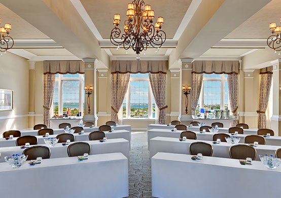 Del Prado Ballroom of The Don CeSar Hotel