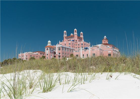 The Don CeSar Hotel offering Queen of Her Castle