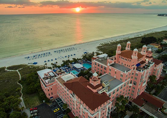The Don CeSar Hotel offering Park & Beach Package