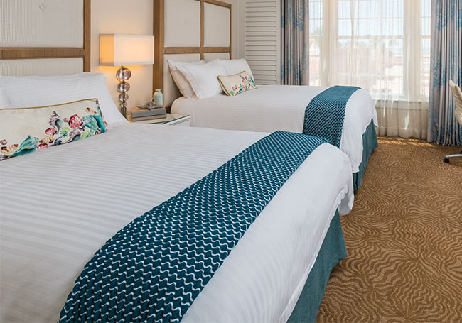 Deluxe 2 Double Beds at The Don CeSar, St. Pete Beach