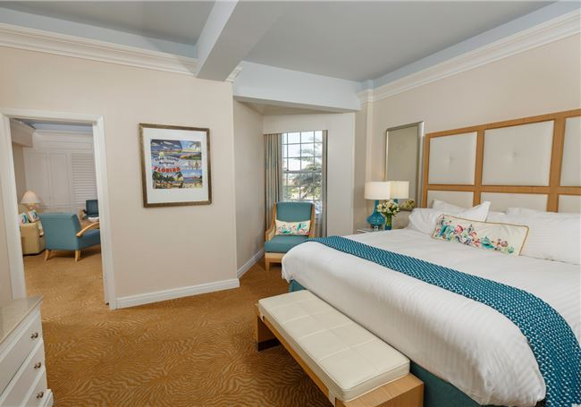 One Bedroom Bayside King Suite of the Don Cesar Hotel