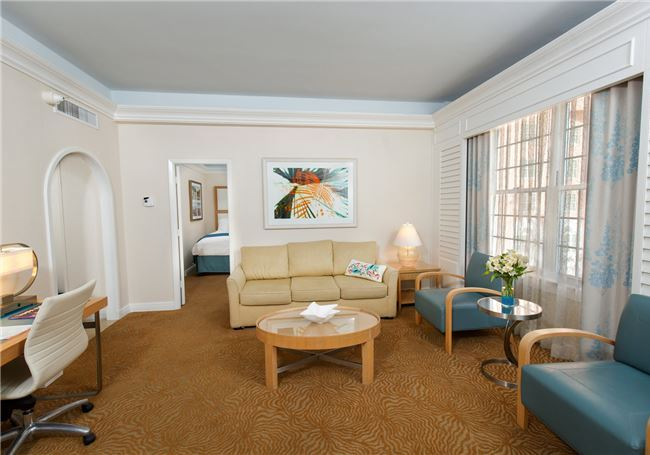 One Bedroom Gulf View Double Suite in The Don Cesar Hote