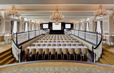 The Don CeSar Hotel offering Grand Ballroom Foyer and Veranda for Meetings