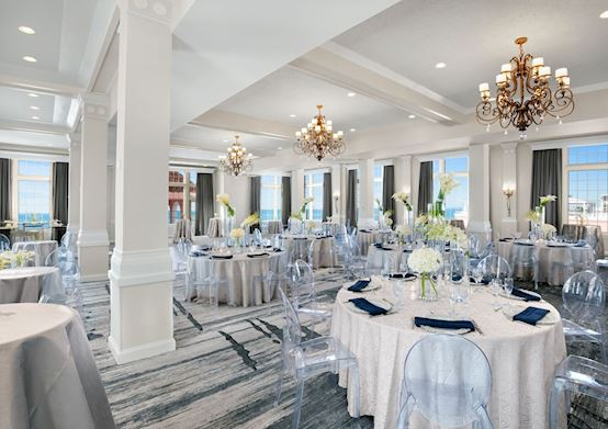 Enjoy your weddings reception in King Charles Ballroom of The Don CeSar Hotel